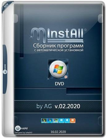 Мини сборник программ - MInstAll DVD v.02.2020 by AG