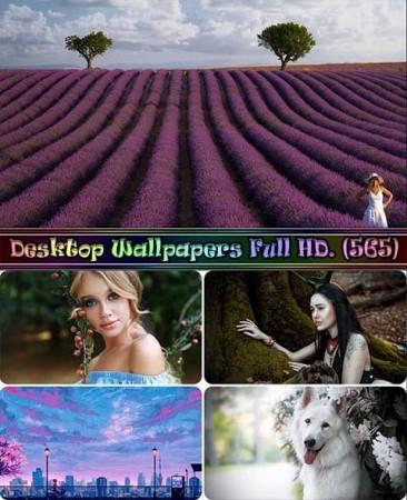 Красивые обои на рабочий стол - Desktop Wallpapers Full HD. Part (565)