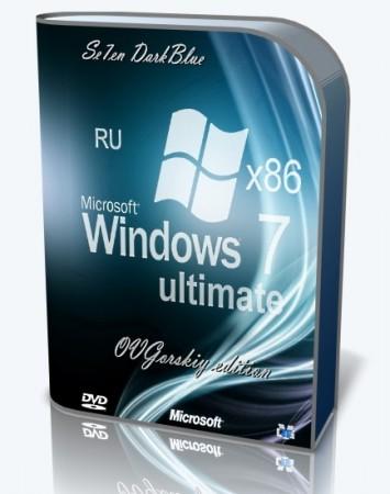 Windows® 7 Максимальная Русская x86 SP1 7DB by OVGorskiy® 02.2020