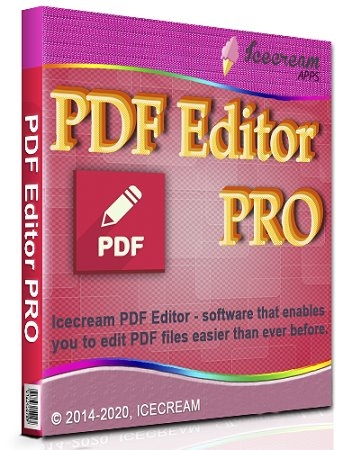 Icecream PDF Editor PRO 2.09 RePack (& Portable) by elchupacabra