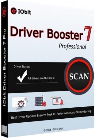 Автоопределение устаревших драйверов - IObit Driver Booster Pro 7.3.0.665 RePack (& Portable) by elchupacabra