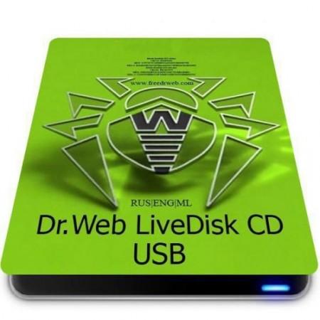 Антивирус без загрузки системы - Dr.Web LiveDisk 9.0.1 (20.10.2020) (Обновляемая)