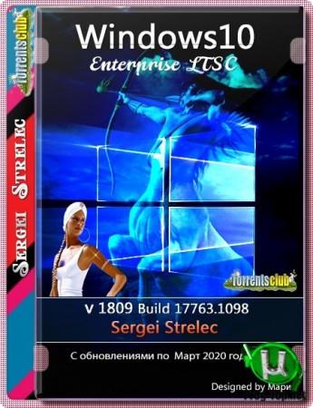 Windows 10 Enterprise LTSC 1809 (Build 17763.1098) x86/x64 by Sergei Strelec