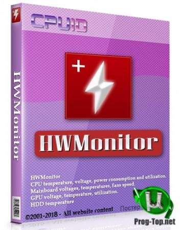 CPUID HWMonitor для ПК Pro 1.41 + Portable