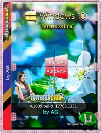 Windows 10 Корпоративная LTSC с программами by AG 03.2020 [17763.1131]