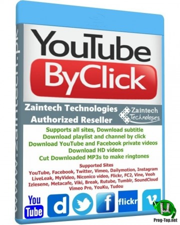 YouTube By Click Premium 2.2.125 на русском RePack (& Portable) by TryRooM