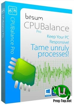 Мониторинг процессов Windows - Bitsum CPUBalance Pro 1.0.0.88