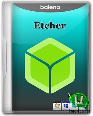 Запись образов на съемные носители - Etcher 1.5.80 + Portable