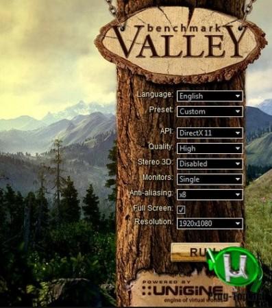 Экстремальное тестирование компьютера - Unigine Valley Benchmark 1.0 Basic Edition