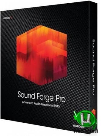 Обработка музыкальных файлов - MAGIX Sound Forge Pro 14.0 Build 43 RePack by KpoJIuK