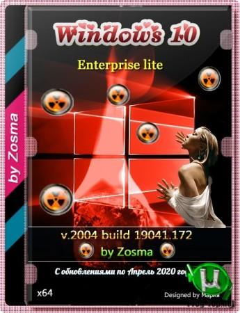 Windows 10 Корпоративная Русская x64 lite 2004 build 19041.172 by Zosma