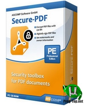 Защита паролем PDF документов - Secure-PDF Professional Edition 2.000