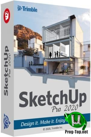 SketchUp 3D моделирование Pro 2020 20.1.235 RePack by KpoJIuK
