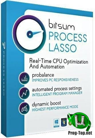 Process Lasso управление Windows процессами 9.8.0.54 RePack (& Portable) by TryRooM