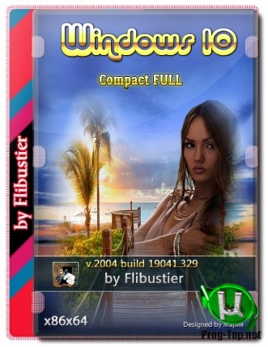 Windows 10 2004 Compact FULL [19041.329] (18.06.2020) (x86-x64)