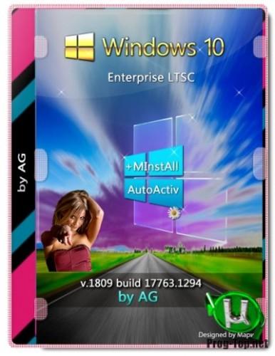 Windows 10 Корпоративная LTSC + программы by AG 06.2020 [17763.1294] (x86-x64)