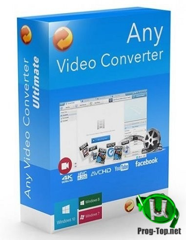 Any Video Converter создание и конвертирование DVD Professional 7.0.2 RePack (& Portable) by TryRooM