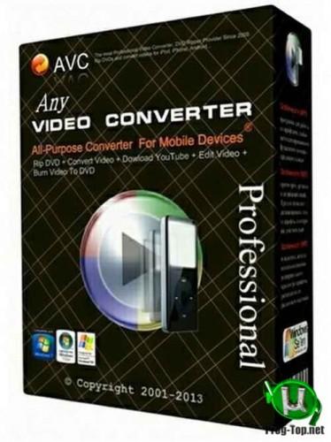 Any Video Converter конвертер видео Professional 7.0.3 RePack & Portable by 9649