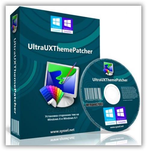 UltraUXThemePatcher применение сторонних тем в Windows 3.8.1