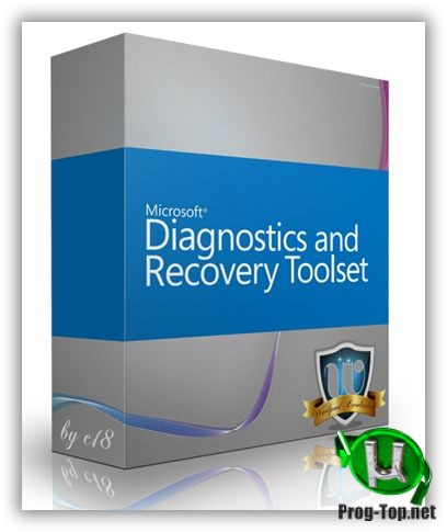 Microsoft Diagnostic and Recovery Toolset восстановление компьютеров 10