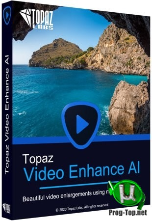 Topaz Video Enhance AI чистое увеличение видео 1.4.2 RePack (& Portable) by TryRooM