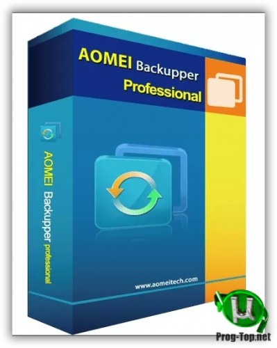 AOMEI Backupper резервное копирование разделов Pro 5.9.0 (акция Comss)
