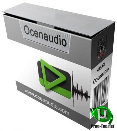 Ocenaudio редактор аудиофайлов 3.8.1 + Portable