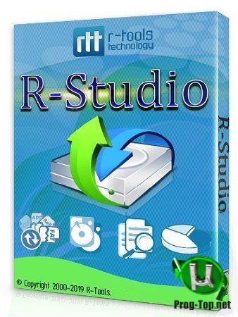 Восстановление удаленной информации - R-Studio Network Edition 8.14 Build 179611 RePack (& portable) by KpoJIuK