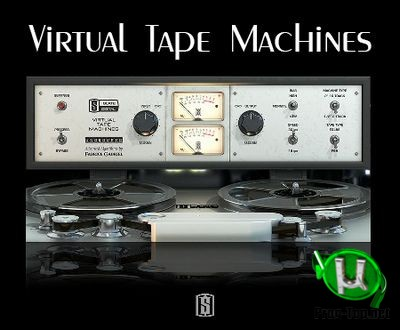 Эмулятор аналогового магнитофона - Slate Digital - Virtual Tape Machines 1.1.11.1 VST, VST3, AAX (x86/x64) RePack by AudioUTOPiA