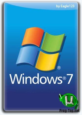 Windows 7 SP1 52in1 (x86/x64) +/- Office 2019 by Eagle123 (Сентябрь 2020)