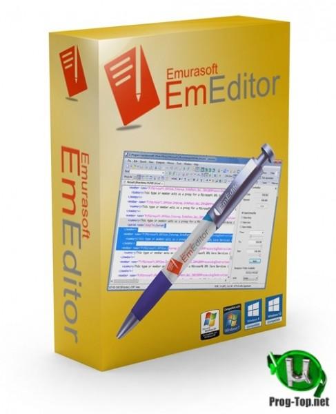 Продвинутый текстовый редактор - Emurasoft EmEditor Professional 20.2.1 RePack (& Portable) by elchupacabra