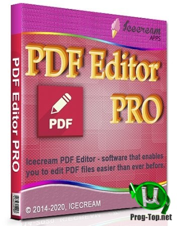 Простое редактирование PDF - Icecream PDF Editor PRO 2.34 RePack (& Portable) by elchupacabra