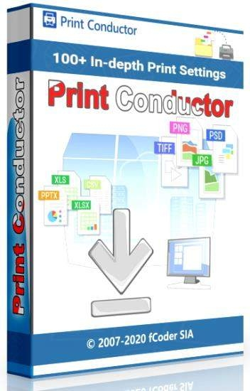 Пакетная печать документов - Print Conductor Free 7.0