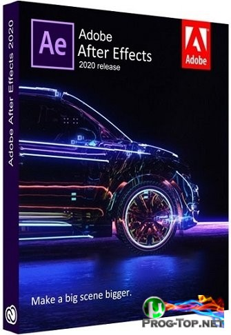 Компоновка анимированной графики - Adobe After Effects 2020 17.5.0.40 RePack by KpoJIuK