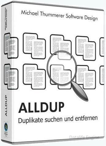 Удаление копий файлов - AllDup 4.4.40 + Portable